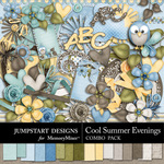 Cool Summer Evenings Combo Pack-$4.80 (Jumpstart Designs)