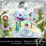 Dream A Little Dream Embellishment Pack-$3.49 (MagicalReality Designs)