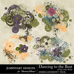 Dancing To The Beat of My Own Drum Scatters-$2.45 (Jumpstart Designs)