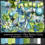 Free Spirits Unite Combo Pack-$4.80 (Jumpstart Designs)