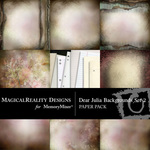 Dear Julia Paper Pack 2-$3.99 (MagicalReality Designs)