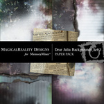 Dear Julia Paper Pack 3-$3.99 (MagicalReality Designs)