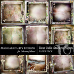 Dear Julia Stacked Paper Pack-$2.00 (MagicalReality Designs)