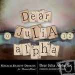 Dear Julia Alpha Pack-$0.99 (MagicalReality Designs)