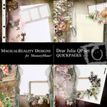 Dear Julia Quick Pages 3-$2.00 (MagicalReality Designs)