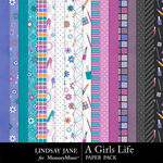 A Girls Life Paper Pack-$3.49 (Lindsay Jane)