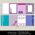 A Girls Life Journal Cards-$1.99 (Lindsay Jane)