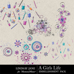 A Girls Life Scatterz-$1.99 (Lindsay Jane)
