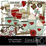 Cocoa Latte Embellishment Pack-$3.49 (Paula Phillips)