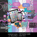 A Girls Life Mini Kit-$2.49 (Lindsay Jane)