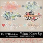 When I Grow Up Big Fancies Pack-$1.99 (Fayette Designs)