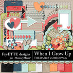 When I Grow Up The Basics Combo Pack-$3.99 (Fayette Designs)