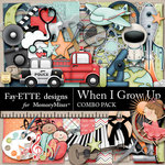 When I Grow Up Combo Pack-$7.99 (Fayette Designs)