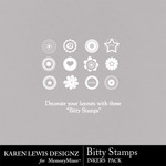 Bitty Stamp Inkers-$1.99 (Karen Lewis)