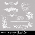 Brush Art Inkers-$1.99 (Karen Lewis)