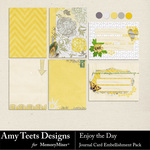 Enjoy The Day Journal Pack-$1.25 (Amy Teets)