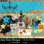 Shabby Hallow Scrap Kit-$3.99 (Amy Teets)