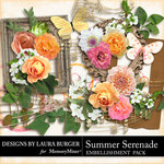 Summer Serenade Embellishment Pack-$1.40 (Laura Burger)