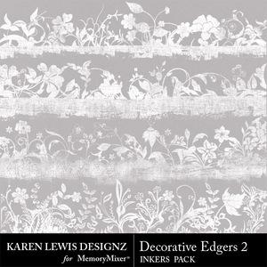 Inkers decorative edgers 2 medium