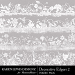 Decorative Edgers Inkers 2-$1.99 (Karen Lewis)