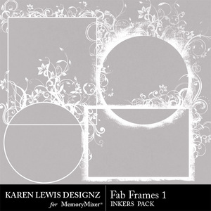 Inkers fab frames 1 medium