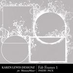 Fab Frames Inkers 1-$1.99 (Karen Lewis)