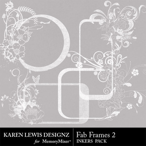 Inkers fab frames 2 medium