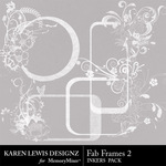 Fab Frames Inkers 2-$1.99 (Karen Lewis)