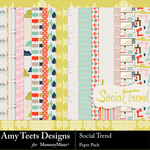 Social Trend Paper Pack-$3.49 (Amy Teets)