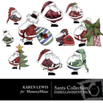 Santa Collection 1 Embellishment Pack-$3.49 (Karen Lewis)