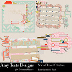 Social Trend Clusters-$2.49 (Amy Teets)
