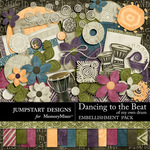 Dancing To The Beat of My Own Drum Combo Pack-$4.99 (Jumpstart Designs)