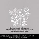 Lucys Garden Inkers-$1.99 (Karen Lewis)