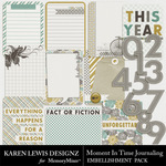 Moment In Time Journaling Pack-$2.49 (Karen Lewis)