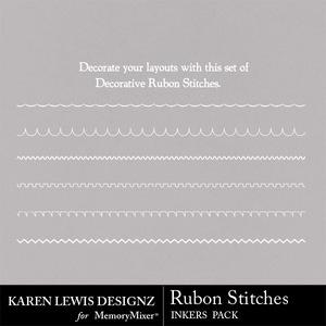 Inkers rubon stitches medium