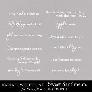 Inkers sweet sentiments medium