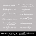Sweet Sentiments Inkers-$1.99 (Karen Lewis)