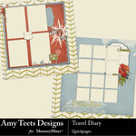 Travel Diary Quick Pages-$2.99 (Amy Teets)