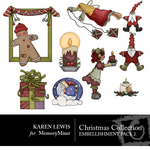 Christmas Collection 2 Embellishment Pack-$3.49 (Karen Lewis)