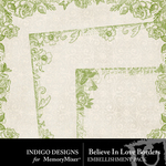 Believe In Love Borders-$1.99 (Indigo Designs)