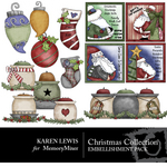 Christmas Collection 1 Embellishment Pack-$3.49 (Karen Lewis)