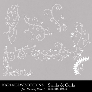Inkers swirlz curlz medium
