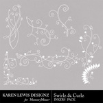 Swirls and Curlz Inkers-$1.99 (Karen Lewis)