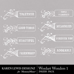 Wordart Wonders 1-$1.99 (Karen Lewis)