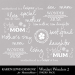 Wordart Wonders 2-$1.99 (Karen Lewis)