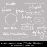 Wordart Wonders 3-$1.99 (Karen Lewis)