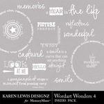 Wordart Wonders 4-$1.99 (Karen Lewis)