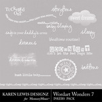 Wordart Wonders 7-$1.99 (Karen Lewis)