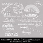 Wordart Wonders 8-$1.99 (Karen Lewis)