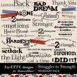 Struggles to Strength WordArt Pack-$3.99 (Fayette Designs)